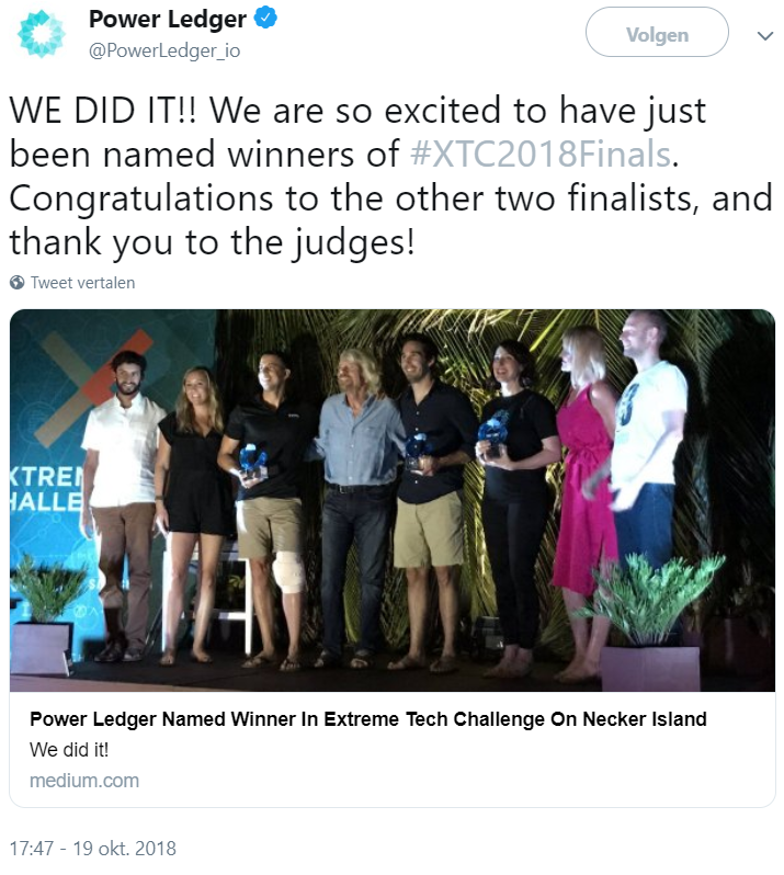 power ledger wins_richard branson startup challenge