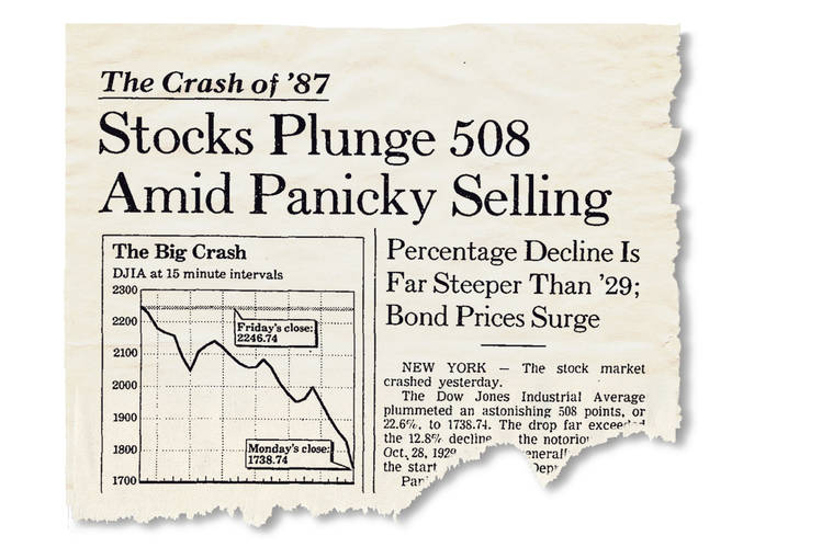 5 Shocking Charts From 1987: No Similar Market Crash In 2019