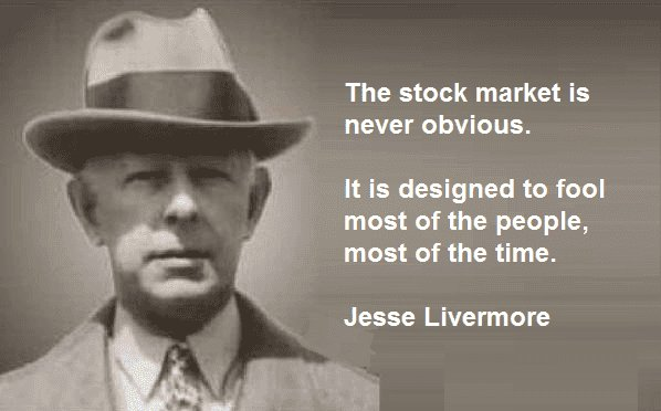 jesse livermore quotes markets obvious