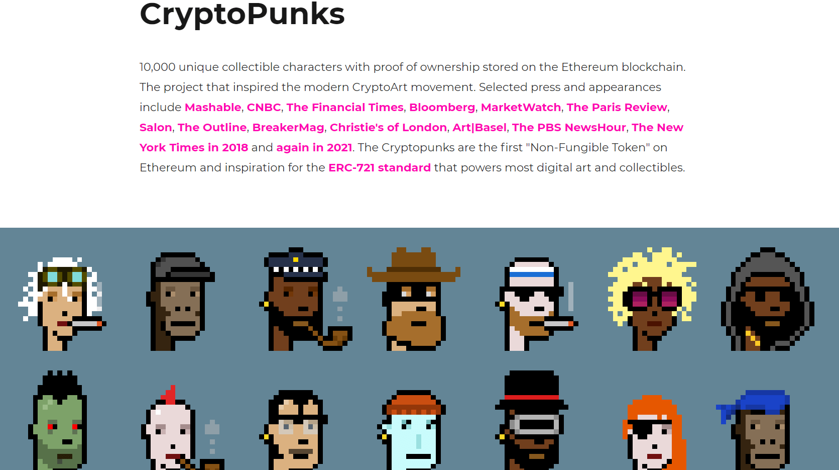 cryptopunks invest in NFTs
